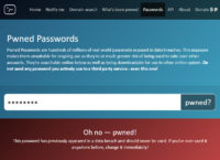 Pwned Password Found