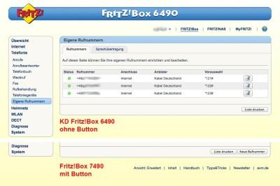 Kabel Deutschland sperrt SIP-Anbieter in Fritz!Box 6490