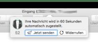 MailButler: E-Mail Versand Widerrufen (Versand wird um z.B. 60 Sekunden verzögert)
